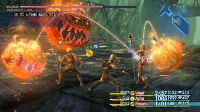 Kampsystemet var rimelig ulikt de tidligere spillene i serien.