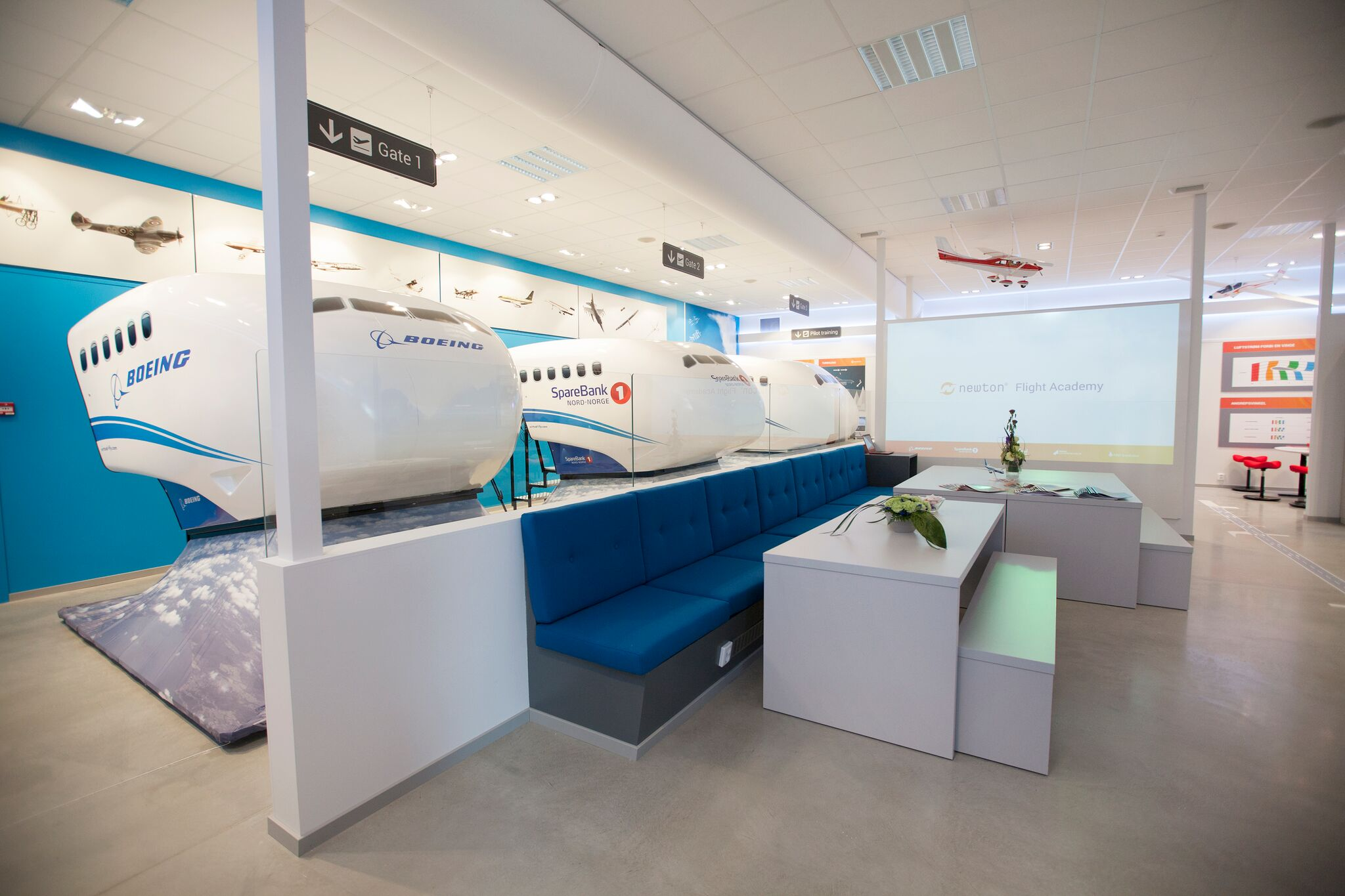 Bodø flymuseum simulator