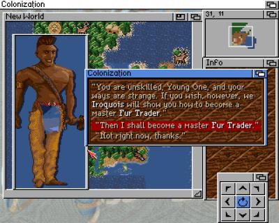 Nok et bilde fra Amiga-versjonen. Dette var Microproses siste spill for plattformen.