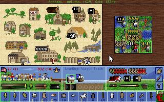 Koloniene begynner med grunnleggende bygninger, som senere kan oppgraderes.