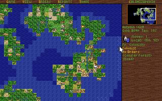 Du kan zoome kartet ut.