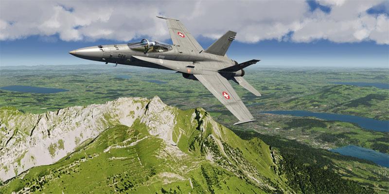 Aerofly FS 2 Sveits