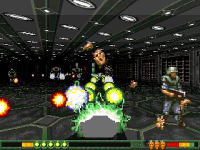 Gloom Deluxe kom senere. Samme spill, bedre oppløsning.