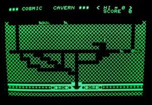 Cavern på min Sharp MZ-80A.
