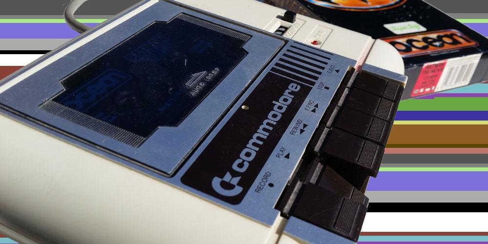 Commodore 64 kassettspiller loading