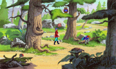 King's Quest V har også den bonusen at du får oppleve tidenes mest irriterende ugle.