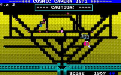 Figurene er små, men det er lett å se likheten med Mr. Dotmans tidligere spill.