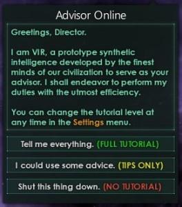VIR - spillets opplæringsrobot.