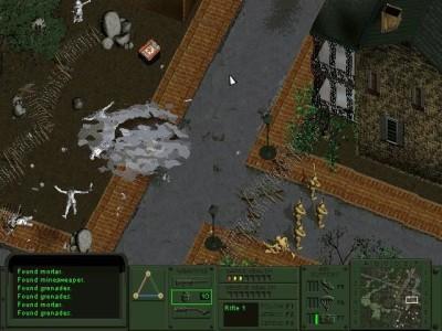 Det første spillet.