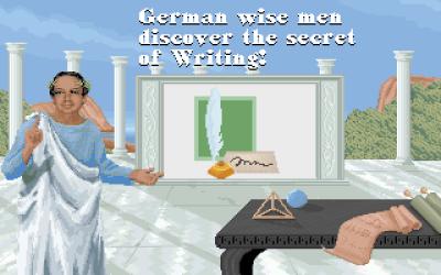 Yay, nå kan vi skrive også!