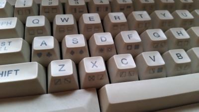 Tastaturet lar deg lage mange spesialtegn – men ikke noen UFO.