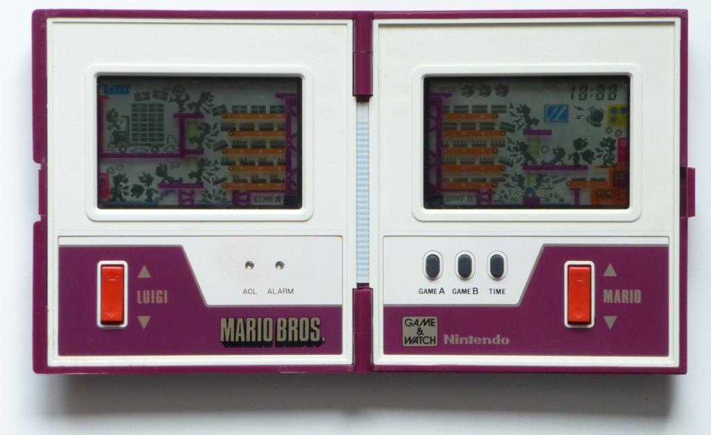 Når du starter spillet, vises all LCD-grafikken samtidig. Bilde: Mobygames.