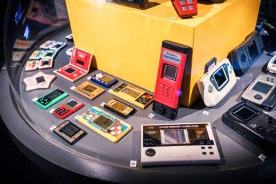 Det kom etter hvert mange håndholdte LCD-spill. Disse er utstilt på Game On-utstillingen på Teknisk Museum. Bilde: Kristian Foshaug.