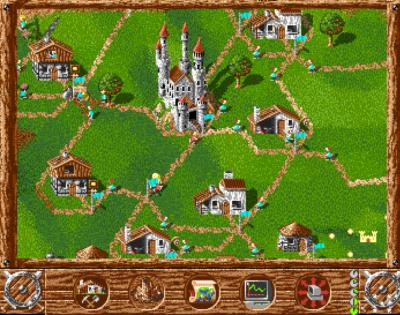 The Settlers på Amiga. En klassiker.