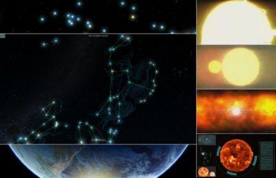 Et knippe bilder fra The Stargazer Experience.