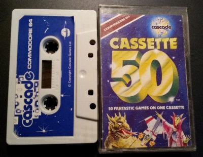 50 spill på én kassett. Wow.