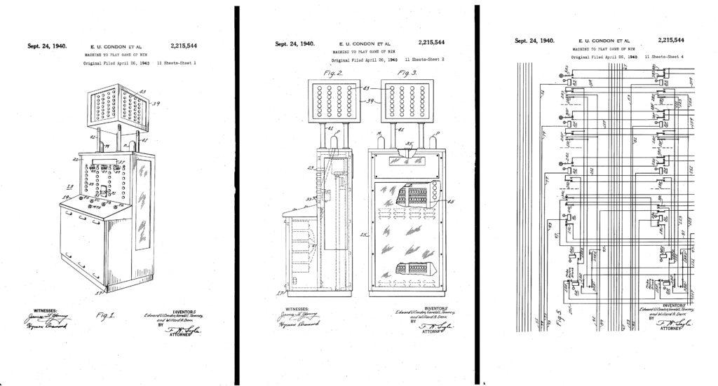Utdrag fra Nimatron-patenten.
