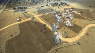 Krig på attenhundretallsvis.
