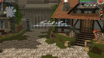 Som Diablo har også dette spillet en landsby du kan besøke.