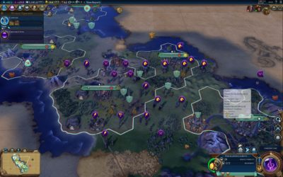 Caesar har omringet Aztekerne.
