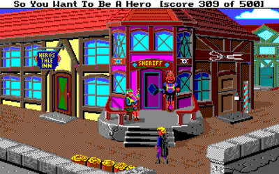 Det hele starter i landsbyen Spielburg.