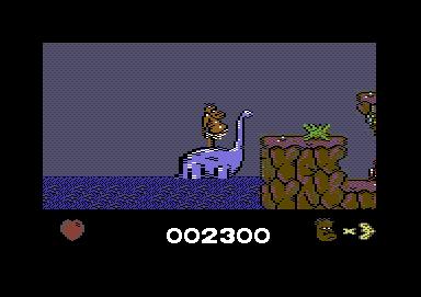 Hjelpsom dinosaur.