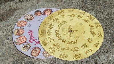 Kodehjul fra Monkey Island 1 og 2.
