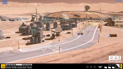 Slik kan en Mars-base se ut.