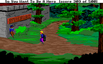 Originale Quest for Glory (Hero's Quest).