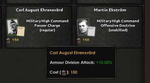 Rene militære geniet, denne karen.