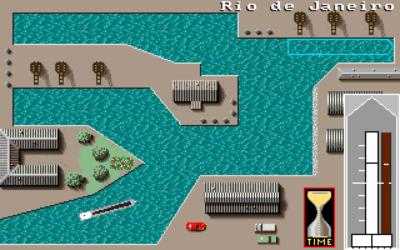 En av spillets mange havner.