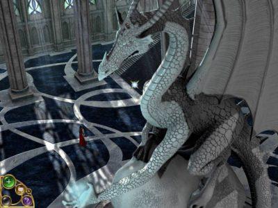 Hele spillmiljøet er skapt i 3D.