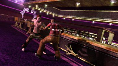 Det blir en del slåssing i Saints Row 2.