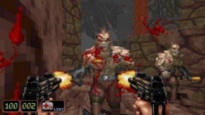 Shadow Warrior er et førstepersons skytespill fra 1997. Det bruker samme grafikkmotor som Duke Nukem 3D (og kom også fra samme utvikler).