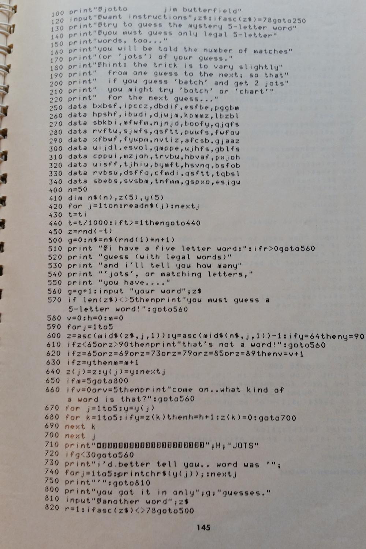 Den komplette kildekoden.