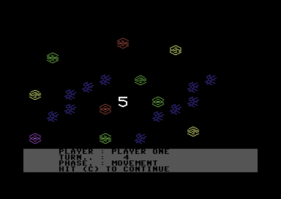 Reach for the Stars (Commodore 64).