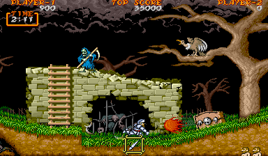 Ghouls 'n Ghosts.