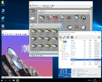 Amiga Forever har blant annet støtte for AROS og CD32.