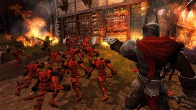 Studioet skapte også de fornøyelige Overlord-spillene.