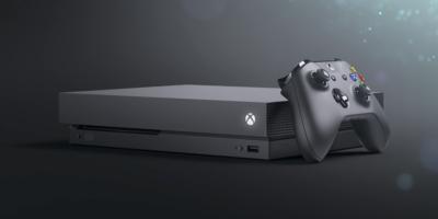 Microsofts nye Xbox One X. Bilde: Microsoft.