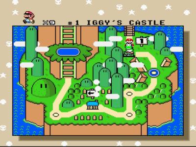 Det første området i spillet.