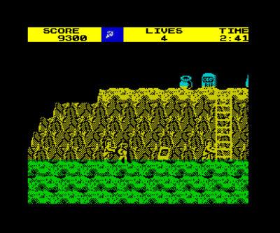 ZX Spectrum – vanskelig å se hva som er hva.