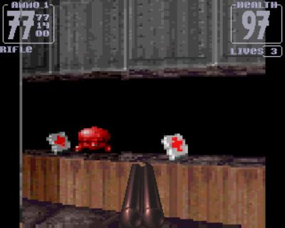 Spillet ble lansert før Røde Kors begynte å klage på utseendet til helsepakker i spill.