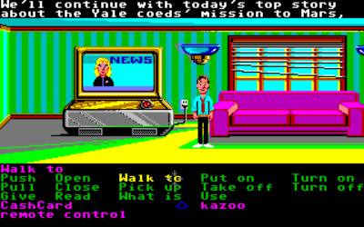 LucasArts-spillene fikk også Amiga-utgaver.
