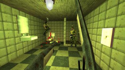 Alle skytespill må ha minst ett toalett. Helst mange flere.