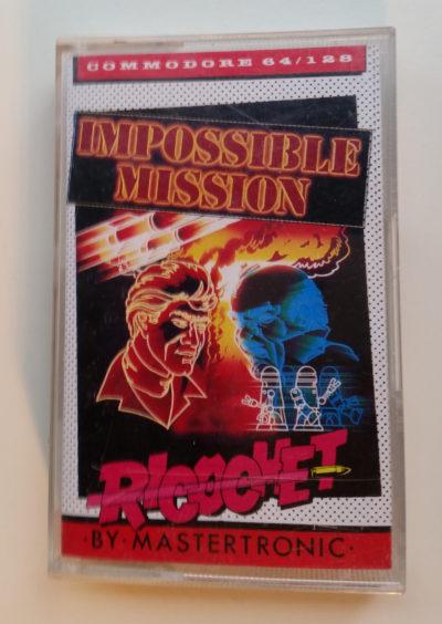 Jeg har ikke originalutgivelsen, men Mastertronics billigboks.