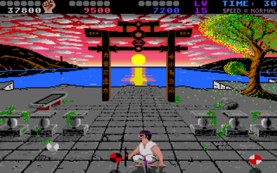 Et av spillets to bonusspill.