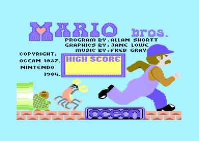 Ja, Mario Bros. er inkludert.