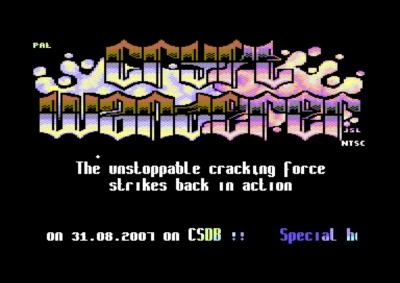 De fleste spillene er piratversjoner, ofte med slike introer og juksemenyer.