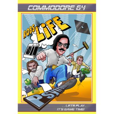Et eget Commodore 64-spill er inkludert i prosjektet.